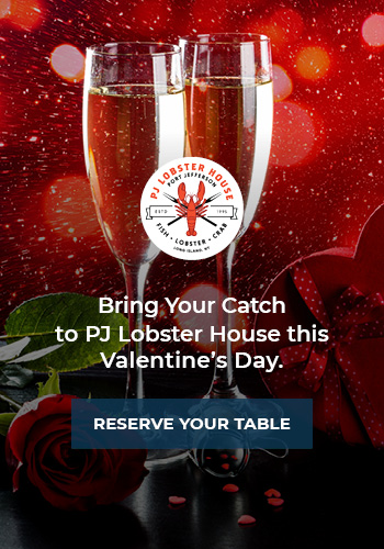 Valentine's Day Dinner Reservations at PJ Lobster House