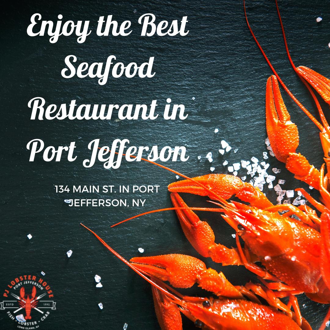 long island seafood restaurant near port jefferson