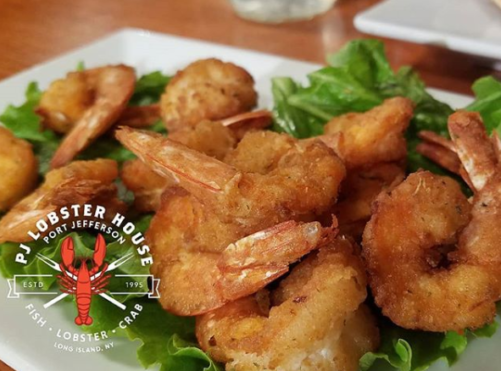All-You-Can-Eat-Shrimp at PJ Lobster House