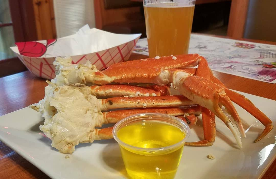 All You Can Eat Crab Legs at PJ Lobster House