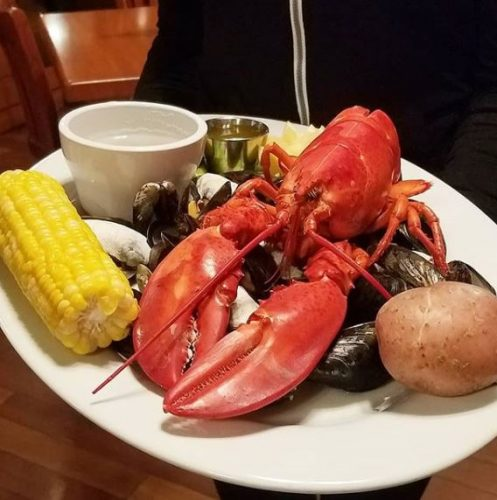 Lobster at PJ Lobster House