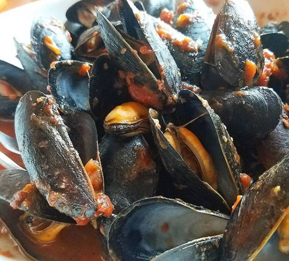 Mussels from PJ Lobster House