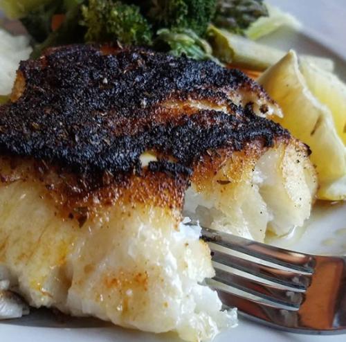 Seafood at PJ Lobster Restaurant