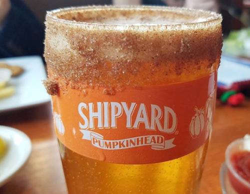 Shipyard Pumpkinhead Beer
